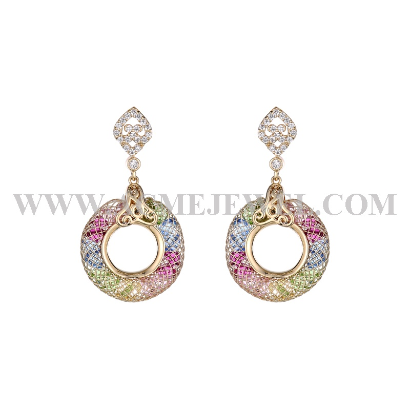 1-214042-611500-3  Earrings