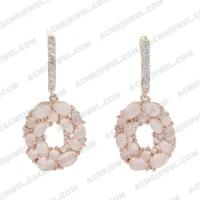 Earrings 925 sterling silver   Rose gold